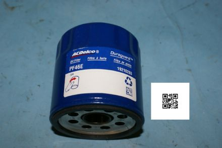 1997-2006 Corvette C5 Early C6 Oil Filter, AC Delco PF46, New
